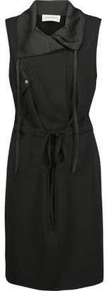 By Malene Birger Black Leather Mallisia Dress - ShopStyle Forever Bright Toothgel, Malene Birger, Leather Clutch, Dresses For Sale, Black Leather, Satin, How To Wear, Shopping, Fashion