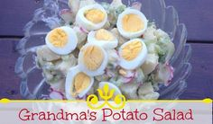 Now you can take a traditional potato salad just like your grandmother used to make and make it your own.