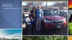Dear Christopher And Beverly Doyle   A heartfelt thank you for the purchase of your new Subaru from all of us at Premier Subaru.   We're proud to have you as part of the Subaru Family.