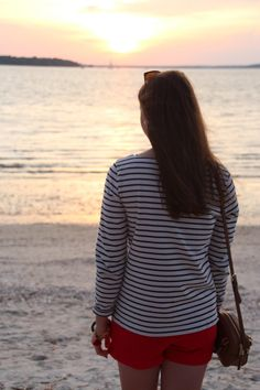 Gimme Glamour: Sunset Stripes
