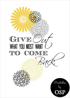 """""""Give Out"""" Free Printable from On Sutton Place"""