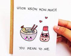 Funny Love Card, Cute Love Card, Funny Anniversary Card, Cute Anniversary  Card Boyfriend, Funny Card Husband, Sushi Card Girlfriend