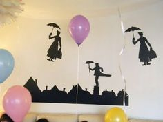 Silhouette Inspired Mary Poppins Party