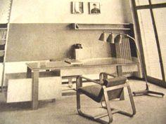 Giuseppe Pagano's rationalist furniture - Italian Ways Office Desk, Corner Desk, Interior Design, Furniture, Buildings, Home Decor, Google, Italia, Corner Table
