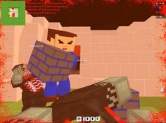 Blockade 3D is a free [F2P] First Person Shooter [FPS] MMO Game taking place in an editable procedural cubic world