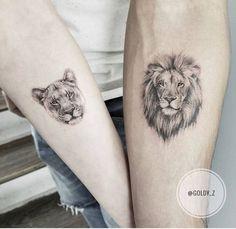 tatuagem leao