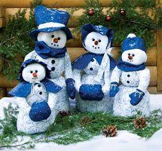 Snowman Family Quilt