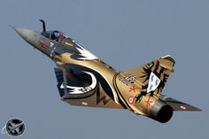 Dassault Aviation Mirage 2000 is a Multirole combat fighter from France Military Jets, Military Aircraft, Air Fighter, Fighter Jets, Mirage F1, Jet Aviation, Photo Avion, Dassault Aviation, Air Machine