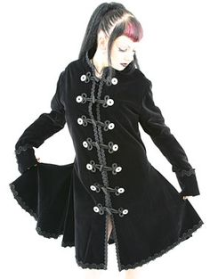 ((((((BOING)))))) OMFG Gothalicious Coat......I would never take it off...not even in a heatwave! I promise you that!!! LOVE!