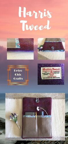 Classic IPad Cover, in Claret and Dark Purple Harris Tweed, Tablet Protection, Classy Christmas Gift for Her Handmade Gifts For Her, Handmade Shop, Handmade Cards, Classy Christmas, Christmas Gifts For Her, Presents For Mum, 10 Inch Tablet, Harris Tweed, Birthday Gifts For Her