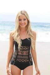 VICTORIA CROCHET ONE-PIECE