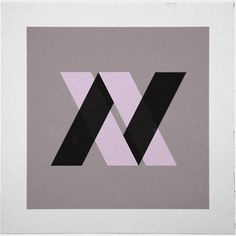 #60 Versus – A new minimal geometric composition each day