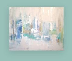 Huge Original Acrylic Abstract Painting on by OraBirenbaumArt, $1200.00