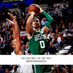 regram @greenrunsdeep  16 in a row for Boston  Who defeat the Mavs in OT.   Kyrie led the Celtics with 47 points.   Celtics head to Miami for a game with the HEAT Wednesday. SMD Celtics  #Celtics #NBA #Mavs http://ift.tt/2hFGKqN
