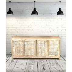 Global Views Driftwood Lattice Credenza (4,580 CAD) ❤ liked on Polyvore featuring home, furniture, storage & shelves, sideboards, rooms, global views, drift wood furniture, storage credenza, storage furniture and driftwood furniture