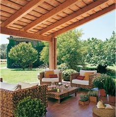 All Time Best Tips: Corner Fire Pit Porches fire pit steel patio. Patio Roof, Pergola Patio, Backyard Patio, Backyard Landscaping, Pergola Kits, Pergola Ideas, Landscaping Ideas, Roof Ideas, Patio Tiles