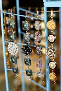 DYI bracelets from vintage clip earrings - so simple and I have sooo many earrings.