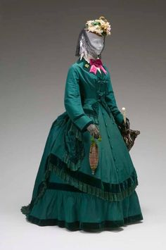 Afternoon ensemble 1870