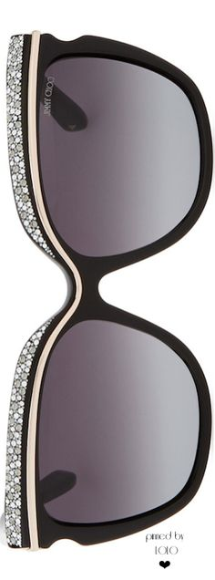 ❣ Jimmy Choo Sophia Embellished Sunglasses ❣ House of Beccaria~ Ray Ban Sunglasses, Mirrored Sunglasses, Sunglasses Women, Jimmy Choo Sunglasses, Black Sunglasses, Cool Glasses, Glasses Frames, Bling Bling, Sunglasses Accessories