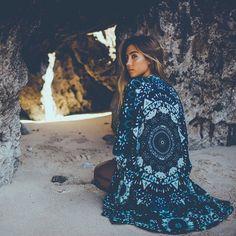 pretty blue kimono