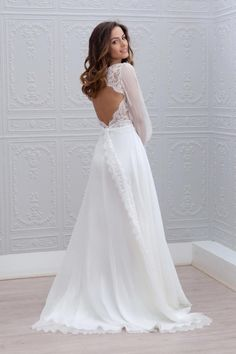 Marie Laporte robe de mariee 2015 - La Fiancee du Panda blog mariage Angelique_2dos