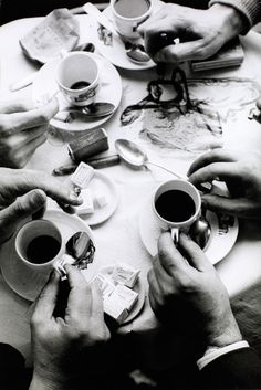 Frank Horvat. Les Mains de Quatre Amis. 1960  [::SemAp Twitter || SemAp::]