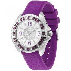 Police Ladies Purple Jade Watch
