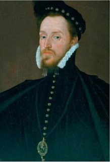 On this day in Elizabethan history, Queen Elizabeth I's maternal first cousin Henry Carey, 1st  Baron Hunsdon and Lord Chamberlain of England, died in 1596 at the royal residence of Somerset House. His death came a mere week after the passing of his sister's husband, Sir Francis Knollys, and the Queen was devastated (Weir, 266).