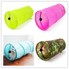 Fre e shippingPetCat Play Tunnel Camouflage Color Funny Cat Long Tunnel Kitten Play Toy Collapsible Bulk Cat Toys PlayTunnel(China (Mainland)) Play Tunnel, Camouflage Colors, Kittens Playing, Cat Supplies, Cat Grooming, Cat Toys, Funny Cats, Puppies, Pets