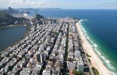 Vista aérea da zona sul da Cidade do Rio de Janeiro - Rio de Janeiro - Brasil - Foto: Fernando Maia   Riotur by RIOTUR   ASCOM, via Flickr