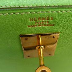 Hermès Anis for a 32 kelly bag