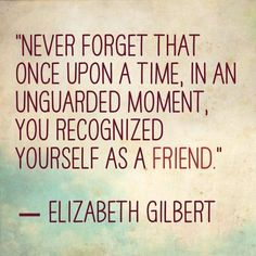 Recognizing Yourself as a Friend [blog post by Lydia Minear, MA, LAPC] #selfcare #selfworth #selfesteem