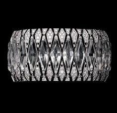 Картье. Горный хрусталь и бриллианты. Браслет. - White gold, rock crystal and brilliant-cut diamonds bracelet by Cartier, 2013.