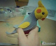 VK is the largest European social network with more than 100 million active users. Bird Crafts, Diy And Crafts, Arts And Crafts, Craft Free, Softies, Pikachu, Dinosaur Stuffed Animal, Sewing Patterns, Projects To Try