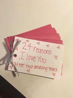 Two year anniversary gift for boyfriend ❤️ #boyfriendanniversarygifts