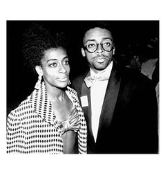 joie lee and spike lee Black Love, Black Is Beautiful, Beautiful People, Mo' Better Blues, Ethnic Hairstyles, Natural Hairstyles, Brother And Sister Love, Code Black, Spike Lee