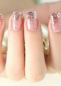 Natural Sparkle Inspiration - Nail Beauty Trends