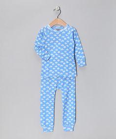 Sweet Potatoes Blue Skies Pajama Set - Toddler & Boys