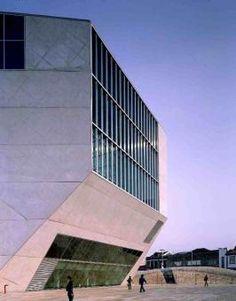 Casa da Música (Porto, Portugal) Rem Koolhaas