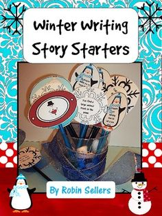 Winter: January Story Starters {Common Core Writing Prompts}