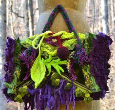 Custom bag purse for Sharon. Woodland style by amberstudios
