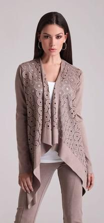 Alberto Makali Suede Cardigan Cute Winter Outfits, Fall 2016, Sweaters, Fashion, Moda, Fashion Styles, Fasion, Sweater