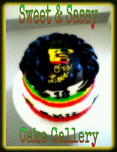 Bob Marley cake Bob Marley Cakes, Eating Light, Food Crush, Exotic Food, Cake Gallery, Love Food, Sassy, How To Look Better, Sweet