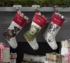 255 Best Christmas Stockings Amp Mittens Images Christmas
