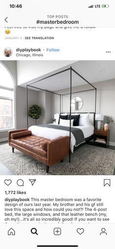 Master Bedroom, Modern, House, Furniture, Design, Home Decor, Bliss, Master Suite, Trendy Tree