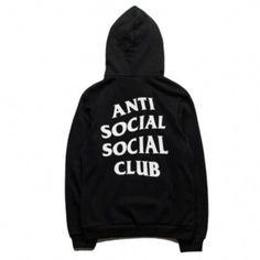 d9530bc95f1b Anti-Social Social Club Hoodies Black  MensFashionEdgy Anti Social Social  Club