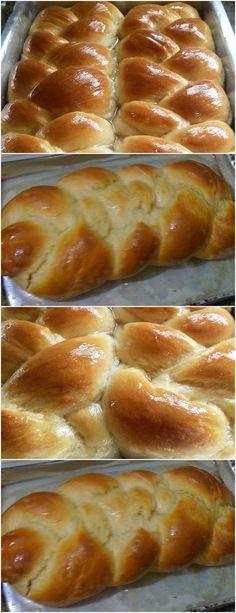 Pavlova, Hot Dog Buns, Banana, Bread, Recipes, Food, Cheesecake, Sweet Potato Bread, Cook