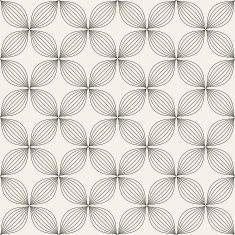 Universal different vector seamless pattern vector art illustration