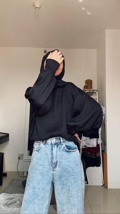Modern Hijab Fashion, Muslim Women Fashion, Hijab Fashion Inspiration, Korean Girl Fashion, Casual Hijab Outfit, Hijab Chic, Casual Outfits, Fashion Outfits, Mode Hijab
