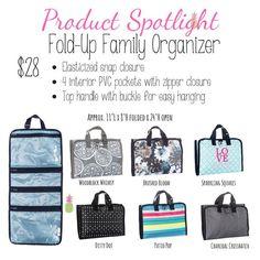 Fold-Up Family Organizer Thirty-One, 31, travel